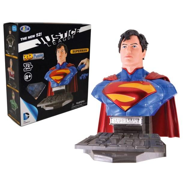 Rompecabezas Kelvin 3D Superman