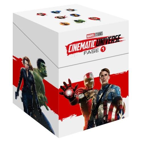 BR Paquete Especial Universo Marvel Fase 1