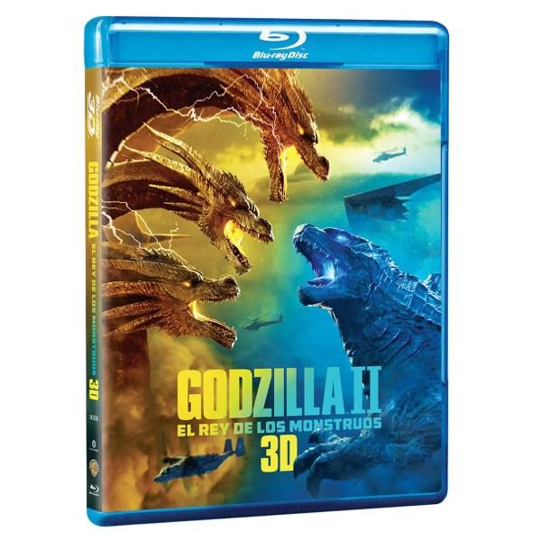 BR 3D Godzilla II El Rey de los Monstruos