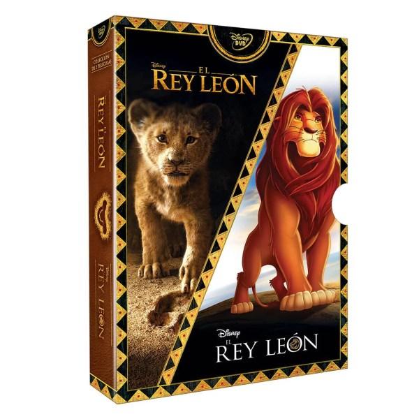 DVD Paquete El Rey Leon
