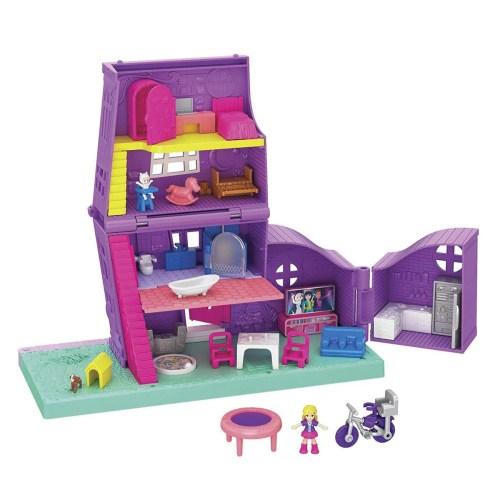 Polly Pocket! Pollyville Casa De Polly