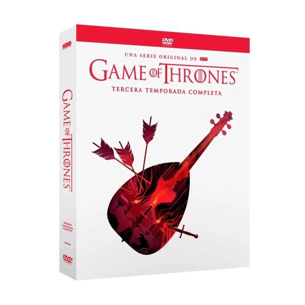 Dvd Game Of Thrones Temporada 3