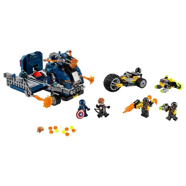 Vengadores Derribo Del Camion Lego Super Heroes Marvel
