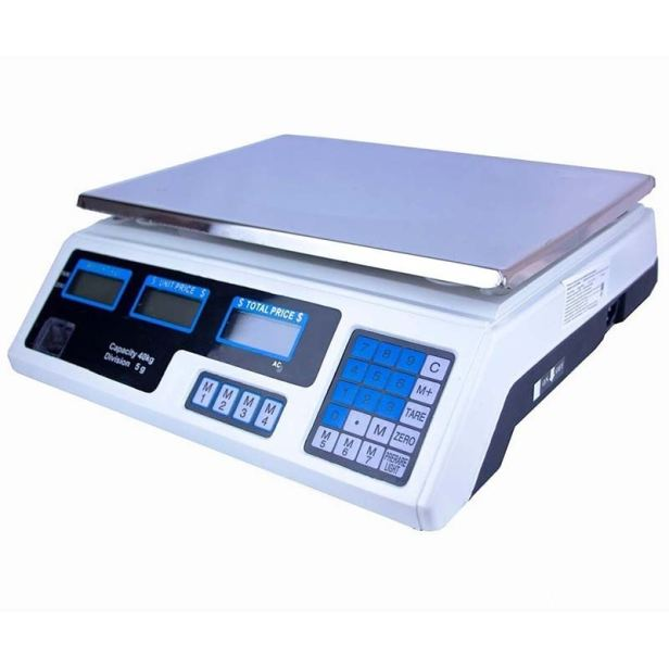 Bascula Digital Electronica 40 Kg Lcd Cocina Comercio Negocio Peso Funcion Tara
