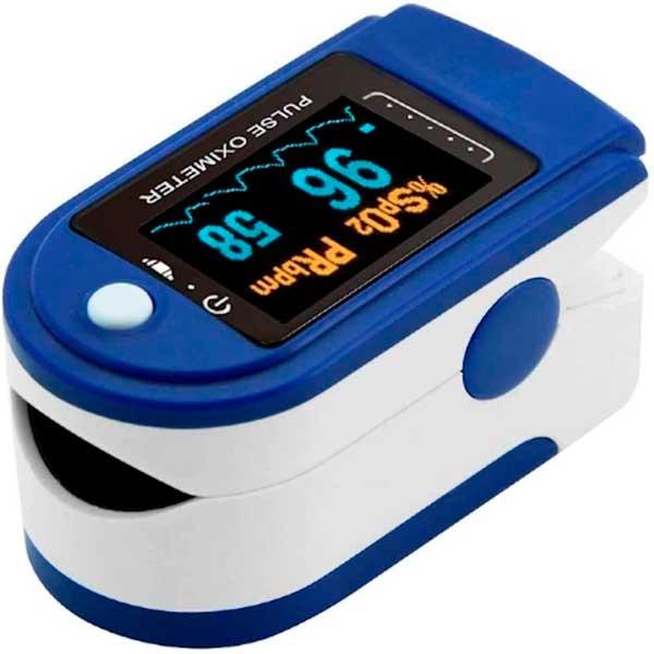 Oxímetro de pulso y nivel de oxígeno OLED adulto o pediátrico