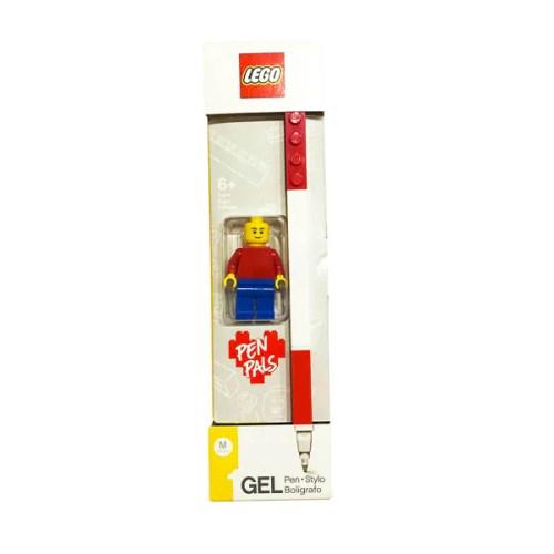 Pluma de Gel con Mini Figura LEGO (Roja)