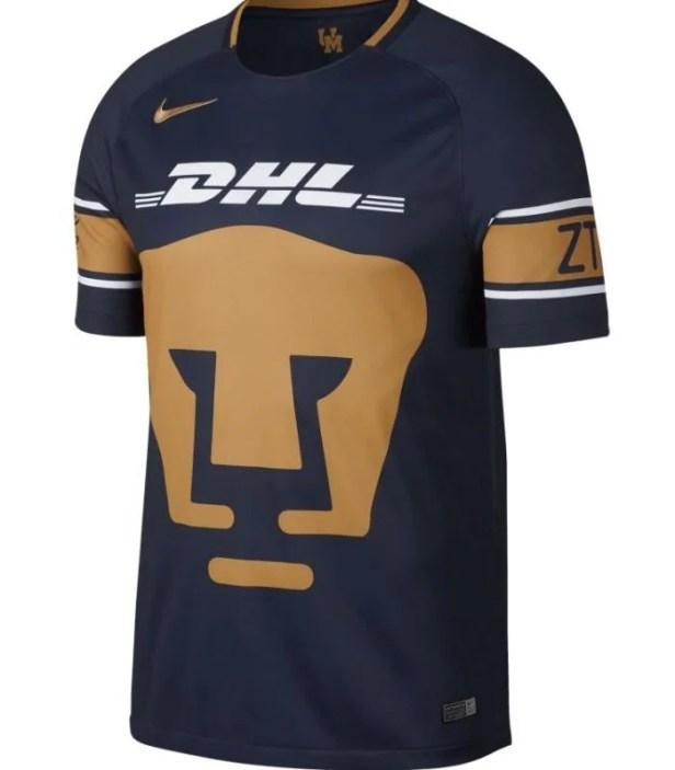 Jersey Nike de Pumas de Unam Azul