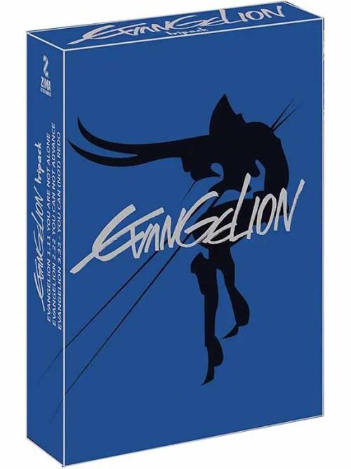 EVANGELION 3 PACK  DVD