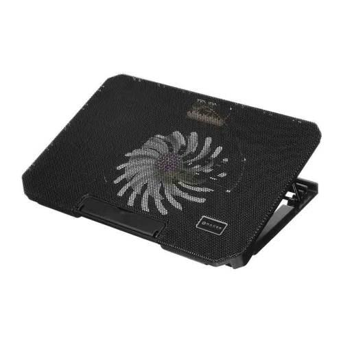 BASE ENFRIADORA NACEB USB 2.0 1 VENTILADOR NEGRO NA-637