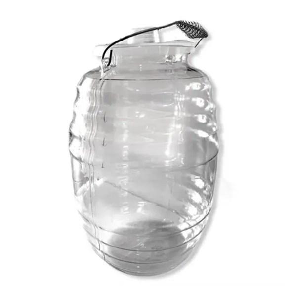 Barril - Vitrolero 11 Litros En Plástico Con Tapa