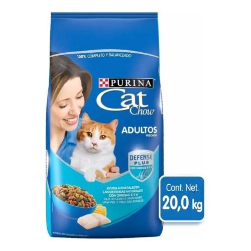 Cat Chow Adulto bolsa azul 20kg