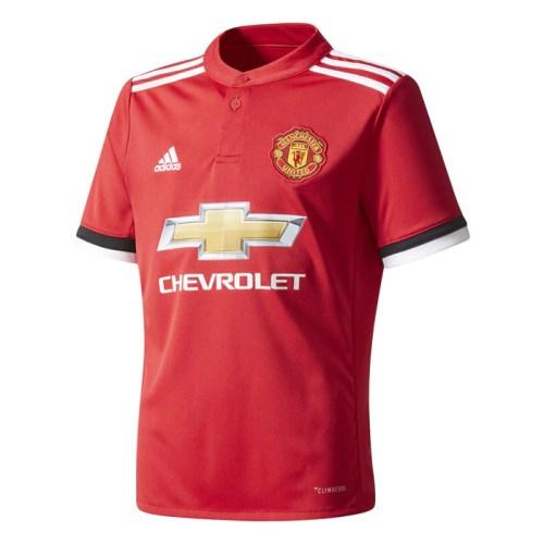 Jersey Adidas Niño Fútbol Manchester United Local Rojo AZ7584
