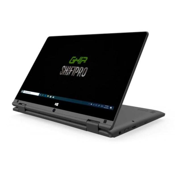 "Laptop 2 en 1 Ghia Shift Pro 11.6"" Intel Celeron N3350 4GB 64GB"