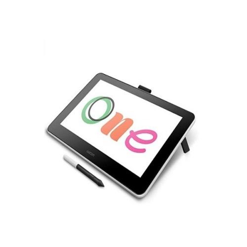 Wacom One, Tablet de Dibujo Digital con visualización, Pantalla gráfica de 13,3 Puadas para Principiantes de Arte y animación DTC133W0A, 33.02 cm 13''