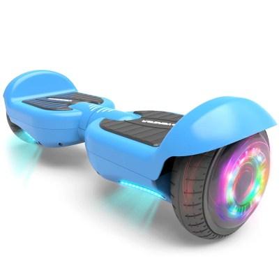 """Patineta Eléctrica HOVERSTAR DZT para niños y adultos, llantas de 6.5"""" con luces flash y Leds"""