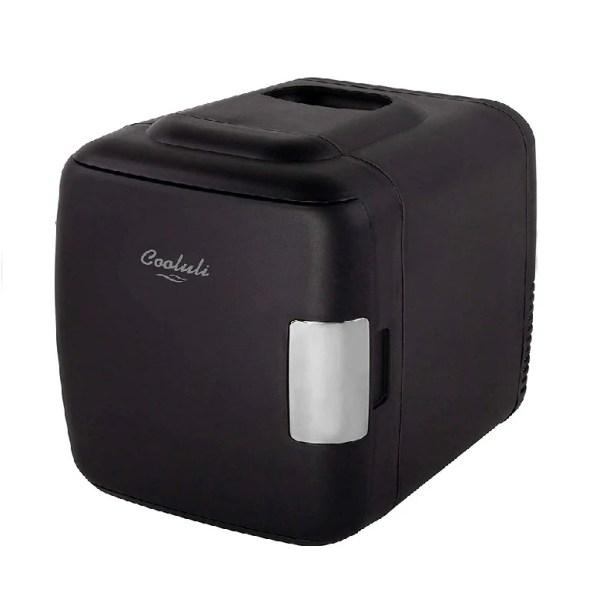 Cooluli Mini Refrigerador Classic 4L - Negro