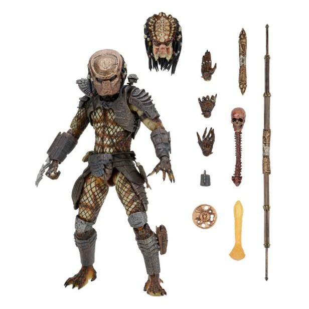 NECA Figura de Accion Ultimate: Depredador 2 - City Hunter
