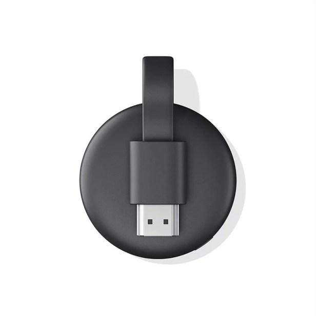 Google Chromecast 3a Generación Streaming Media Player Negro