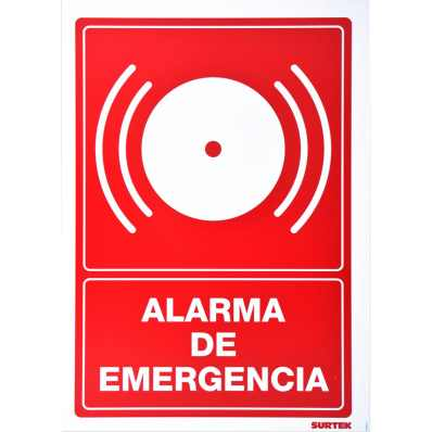 Señal Alarma De Emergencia Surtek