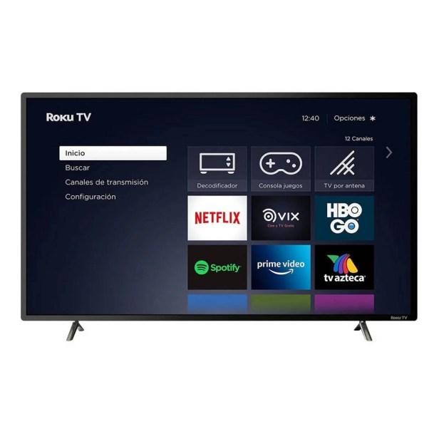 Smart TV 42 JVC LCD FULL HD HDMI USB Roku TV SI42FR