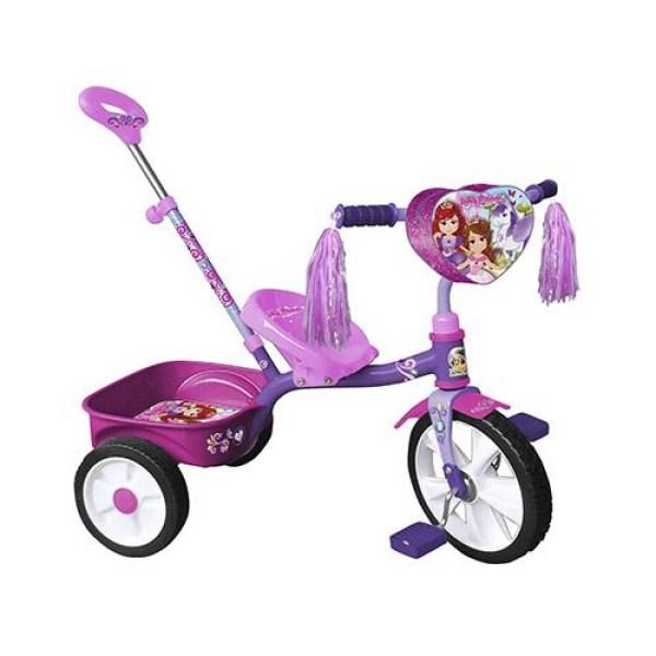 Triciclo Apache R12 Lovely Princess Barandal Con Empuje 0982