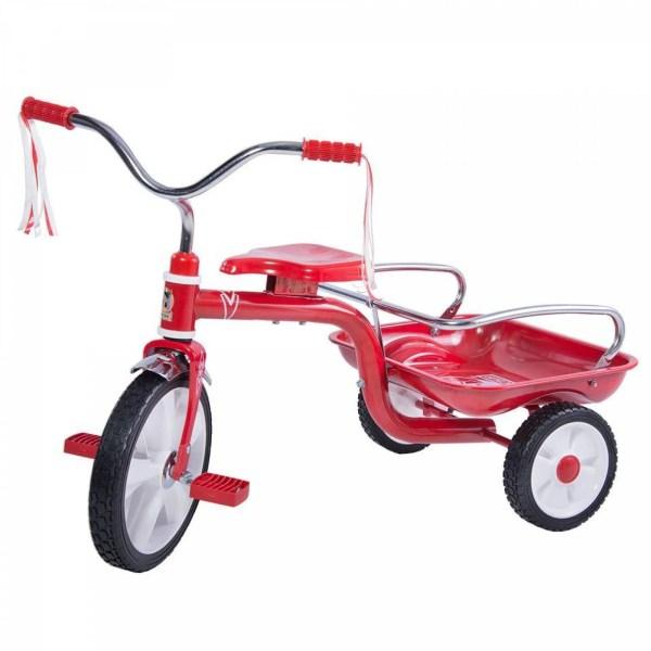 Triciclo R12 Apache Caja/ Barandal Casco 302 Rojo