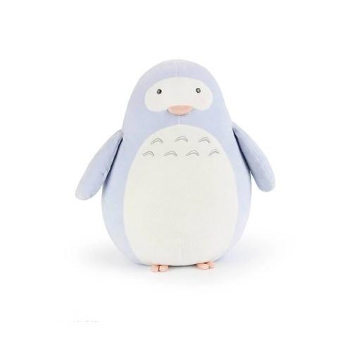 Peluche Pinguino azul suave 20cm