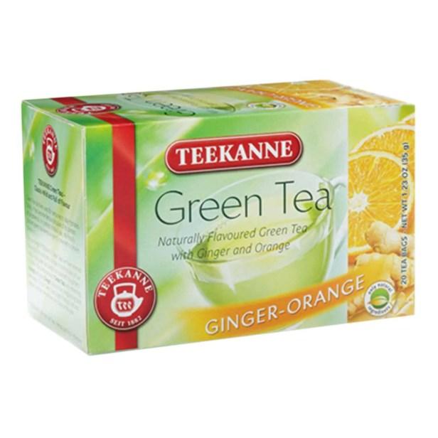 Té Verde Teekanne Jengibre Naranja