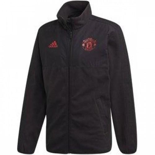 Chamarra Adidas Felpa Manchester United Edicion Especial Hombre
