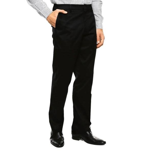 Pantalón Aight Fit Negro para Caballero