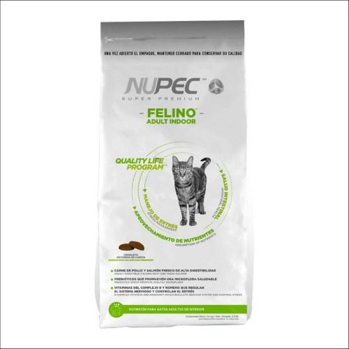 Alimento para gato Nupec Felino Adulto Indoor de 3Kg