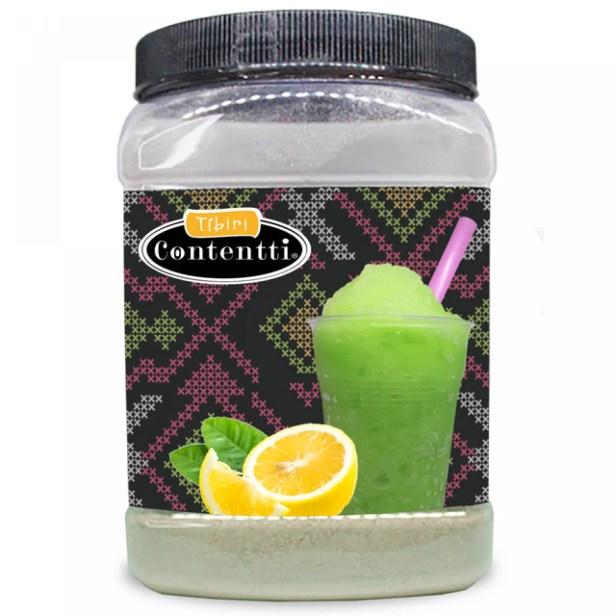 Polvo para Icy Frutz o Frappe Frutal Sabor Limón 1 kg