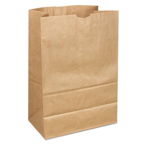 16 4040 Tall Heavy Duty Brown Kraft Paper Bags 400 BAG