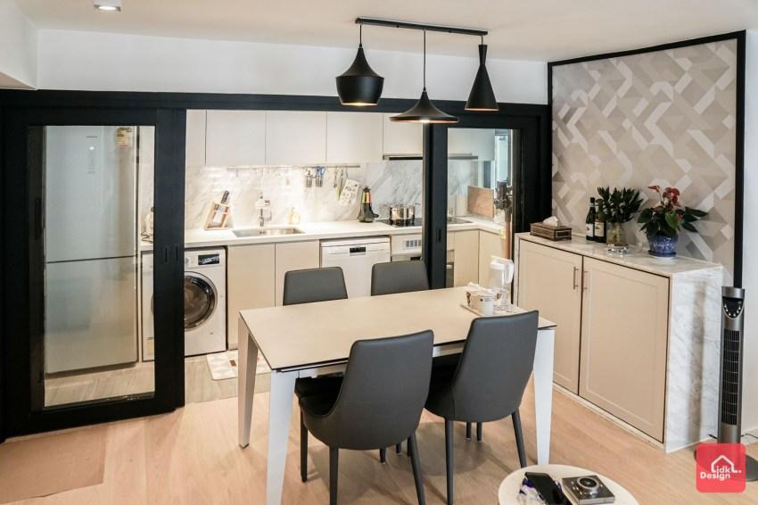 位於太古城的溫暖家居 玫瑰金鋼塑造典雅氣氛 | DesignIDK