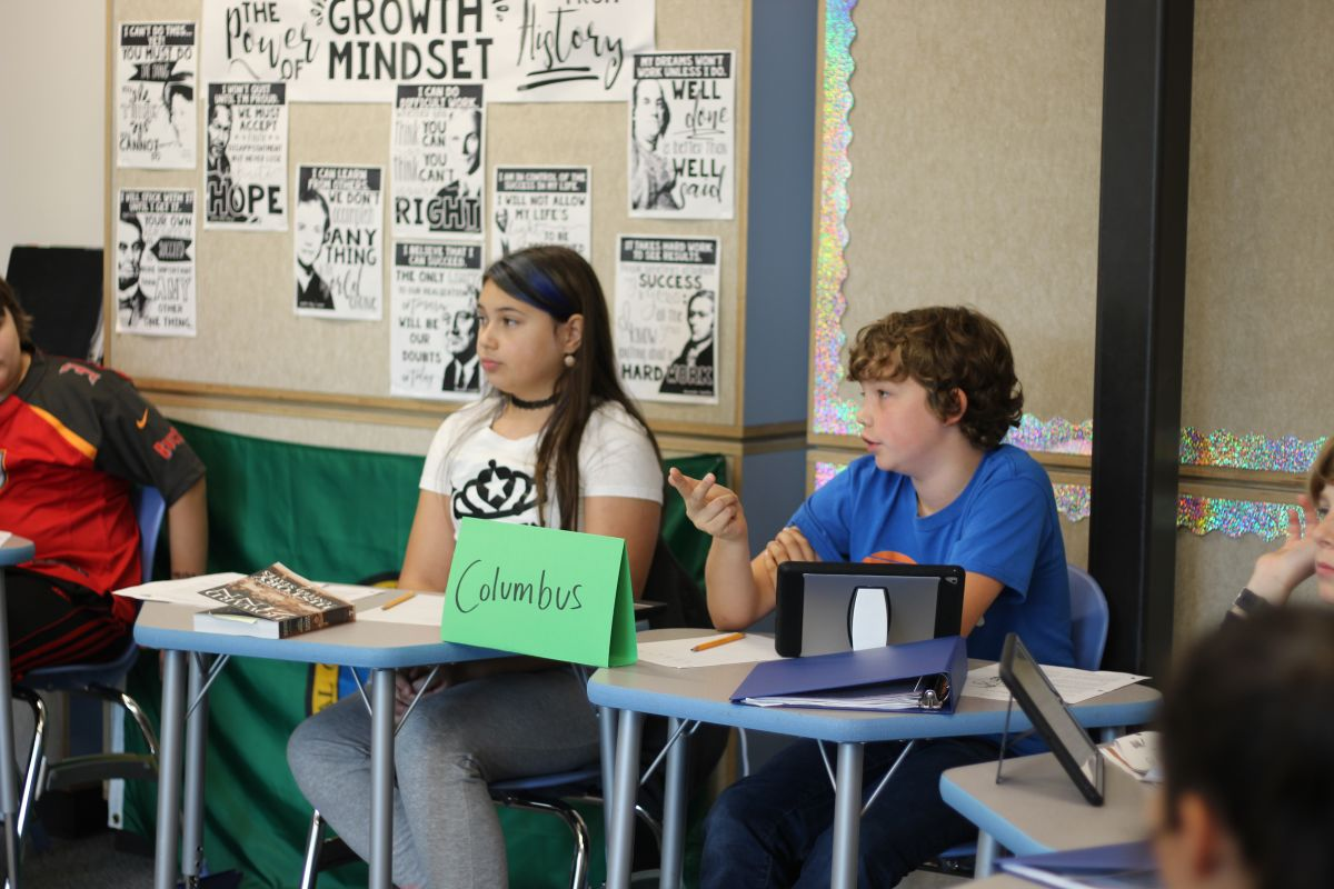 Putting Christopher Columbus On Trial In 6th Grade Social
