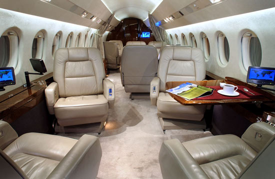 Falcon 900EX EASy Specifications Cabin Dimensions Speed