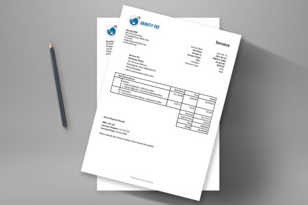 Invoice Classic     a Gravity Forms invoice   Gravity PDF This is your classic format invoice on steroids  Upload your business logo   include your company details  use merge tags to include the recipient info  and