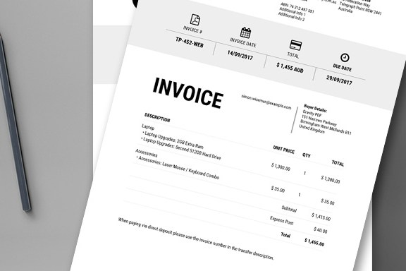 HD Decor Images » Invoice Iconic     a Gravity Forms PDF Invoice   Gravity PDF Iconic is a minimalist invoice perfect for modern day businesses  Upload  your business logo  include your company details  use merge tags to include  the