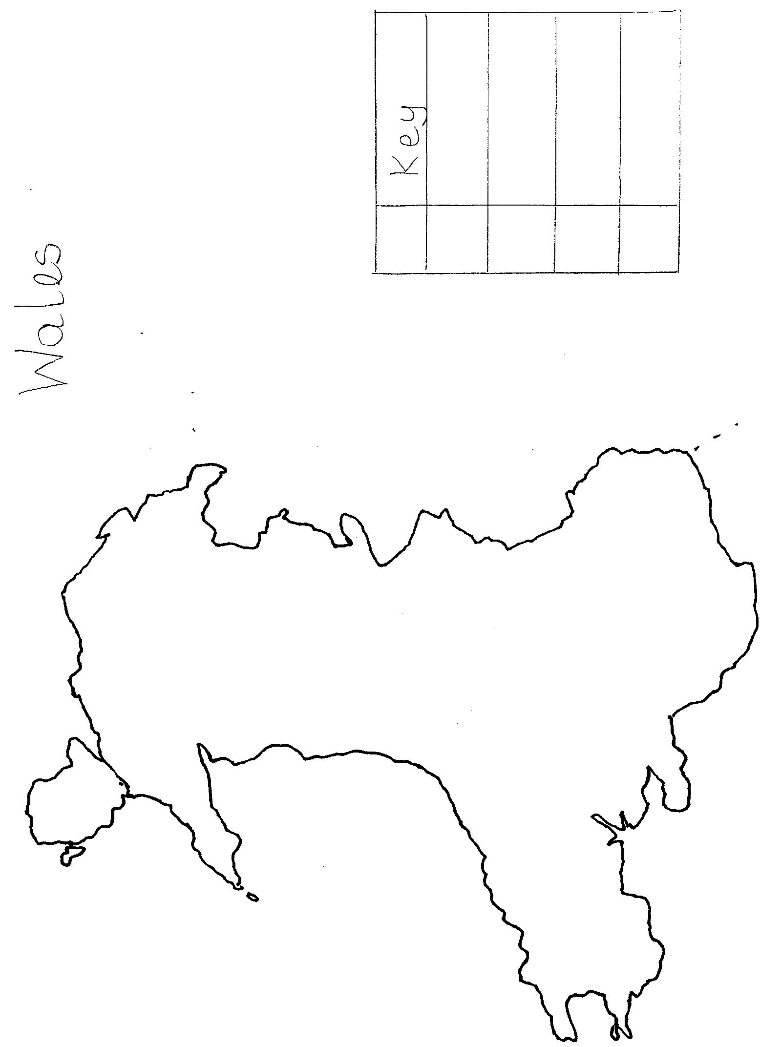 Thematic Map Worksheet
