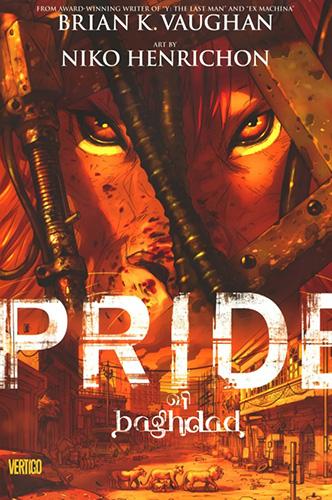 Pride of Baghdad cover