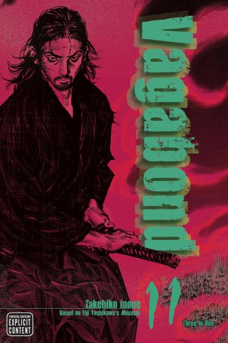 A look at the cover of Vagabond, vol. 11, by Takehiko Inoue.