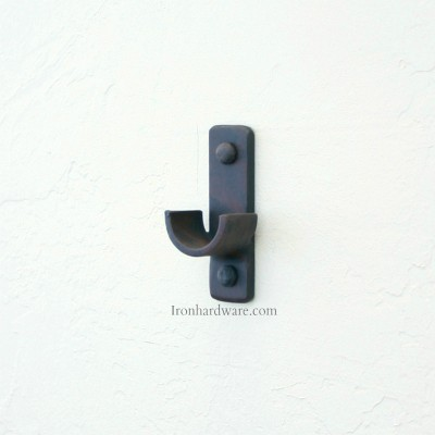 Iron Drapery Hardware Mounting Brackets Paso Robles Ironworks