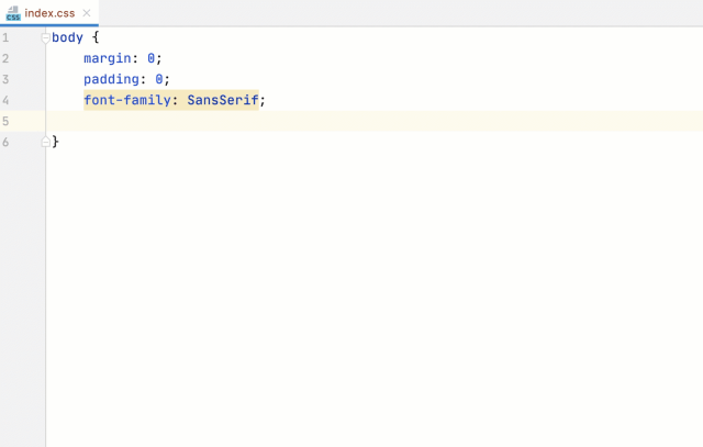 Style Sheets  PhpStorm