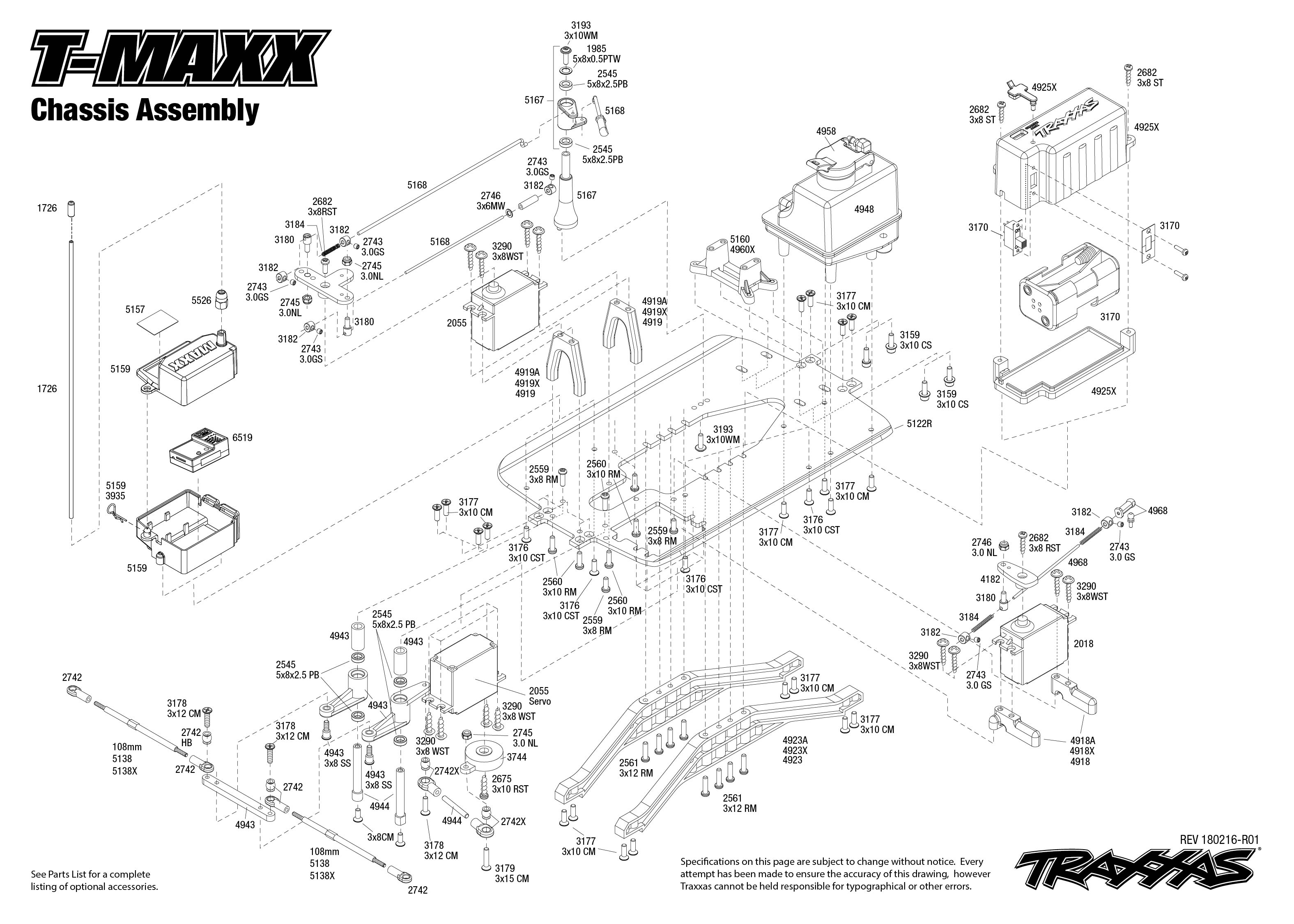 Traxxas T Maxx Classic 1 10 Scale Nitro Powerd 4wd Maxx