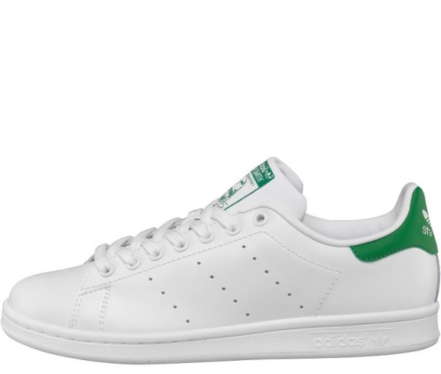 Adidas Originals Mens Stan Smith Trainers White Green