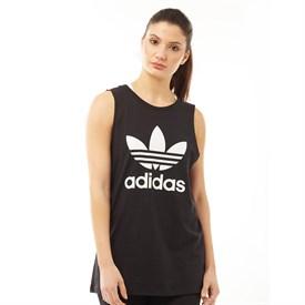 adidas Originals Womens Trefoil Loose Tank Black