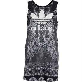 adidas Originals x The FARM Company Womens Pavao Tank Dress Multicolour