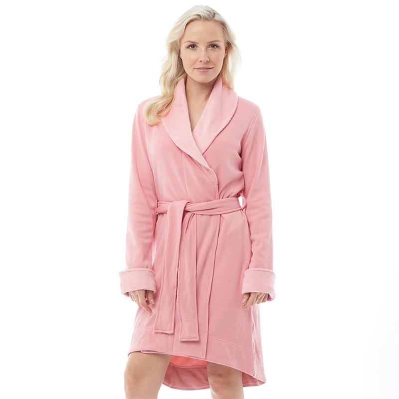 Ugg Robe De Chambre Blanche Ii Femme Rose Pale