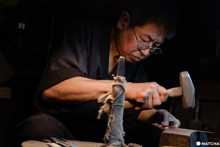 【大阪】鋒刃之下展現的日本職人技術|刀具打鐵鋪「佐助」