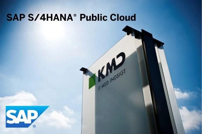 Alle taler om digital transformation – KMD gør det. KMD og SAP vil rykke nordiske virksomheder i skyen med Cloud ERP-satsning 1